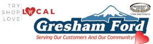 Try Local First with Gresham Ford Logo