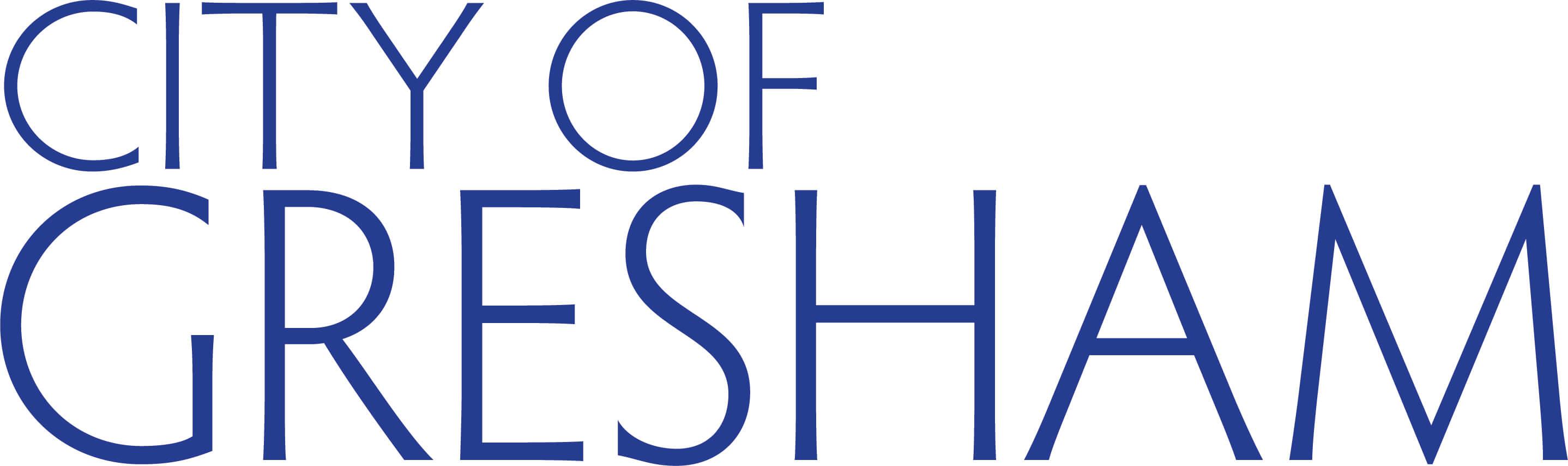 City of Gresham Official Logo