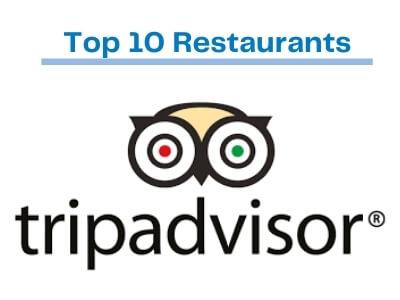 Top ten Gresham restaurants from Trip Advisor
