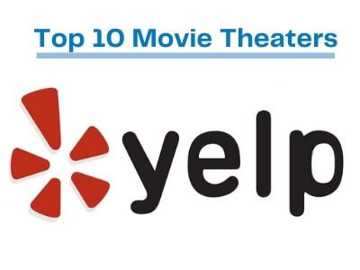 Yelp top Ten Movie Theaters in the Gresham Area