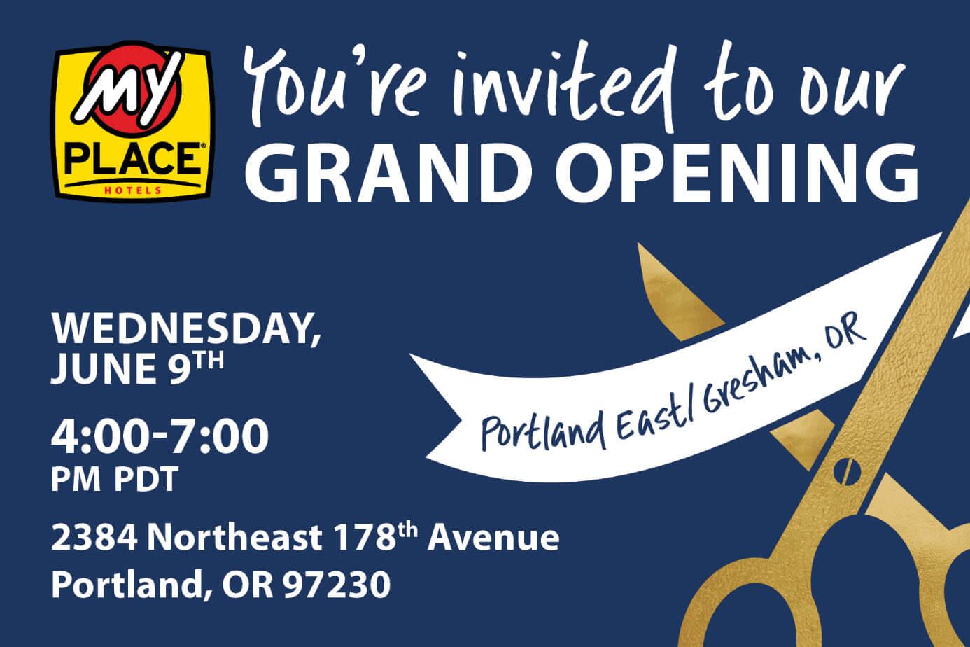 My Place East Portland Gresham Grand Opening