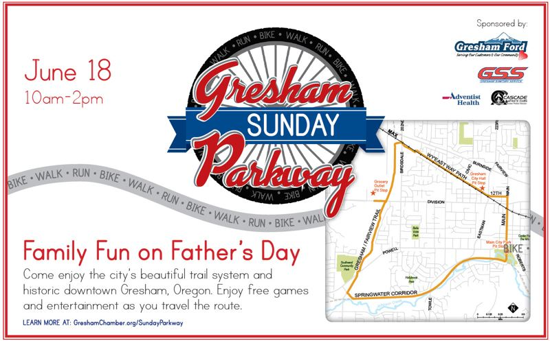 Gresham Sunday Parkway Event