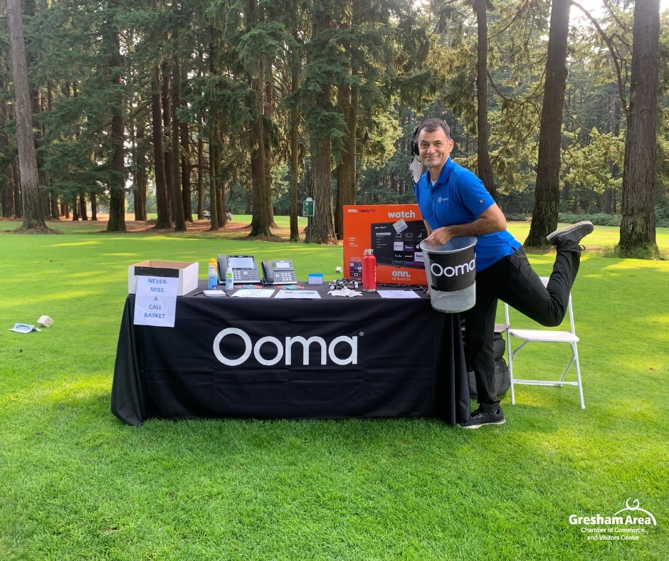 2021 Gresham Area Chamber of Commerce Golf Tournament - Ooma Office