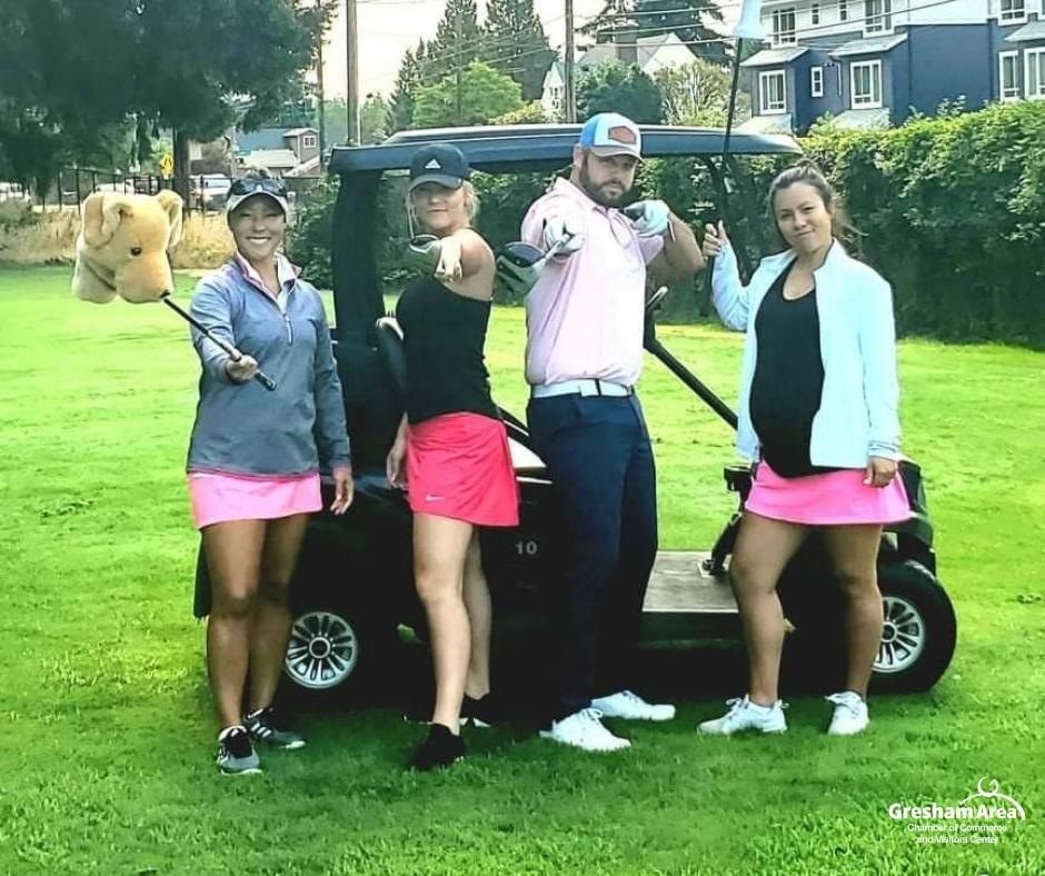 Gresham Area Chamber 2021 Golf Tournament Players