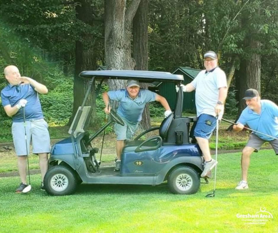 2021 Gresham Area Chamber of Commerce Golf Tournament