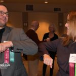 Elbow Bumps at the Gresham Area Business Excellence Awards