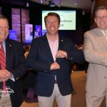 Elbow Bumps with Gresham Area Excellence Business Award Attendees