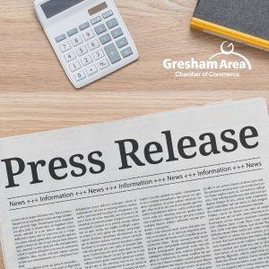 Gresham Area Press Release