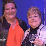 Try Local First Winner Shannon Chisum and Award Presenter Bess Wills