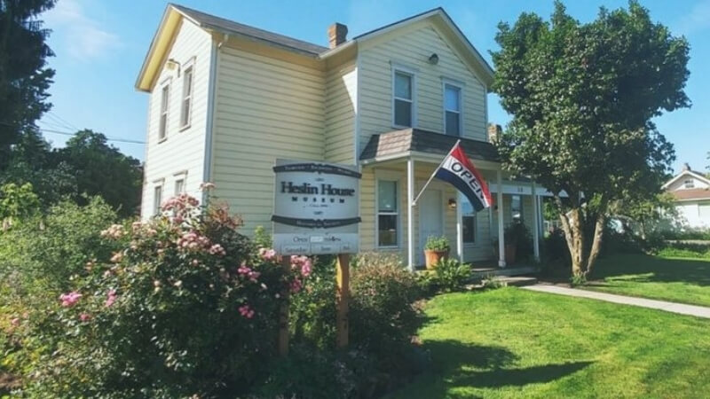 Heslin House Museum in Fairview Oregon