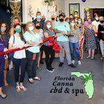 Florida Canna CBD Spa Ribbon Cutting