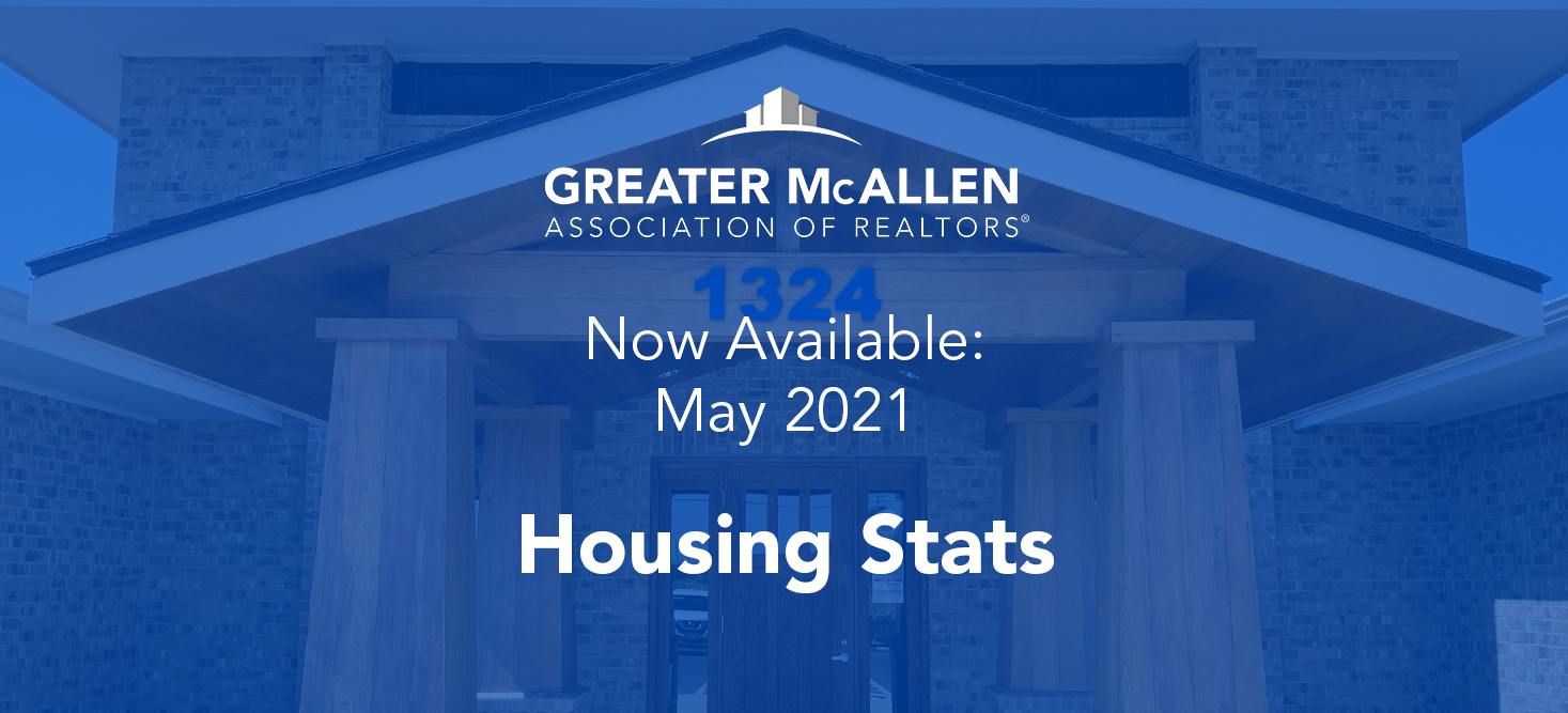 Slide - May 2021 Housing Stats Available to view in What's New