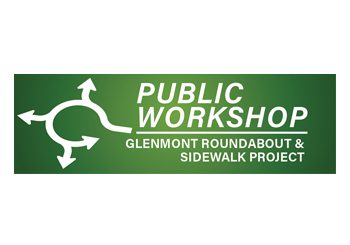 green and white Glenmont roundabout workshop image