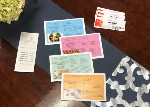 brochures from LGC Nutrition company
