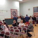 people networking at Coffee & Conversation event