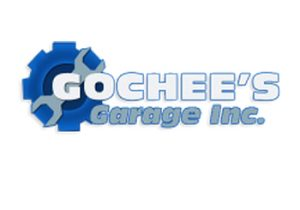 Gochees Garage text logo