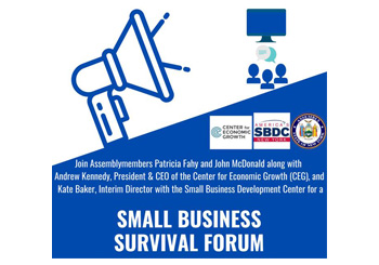 Event Graphic for Small Business Survival Forum