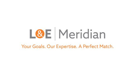 L&E Meridian Logo