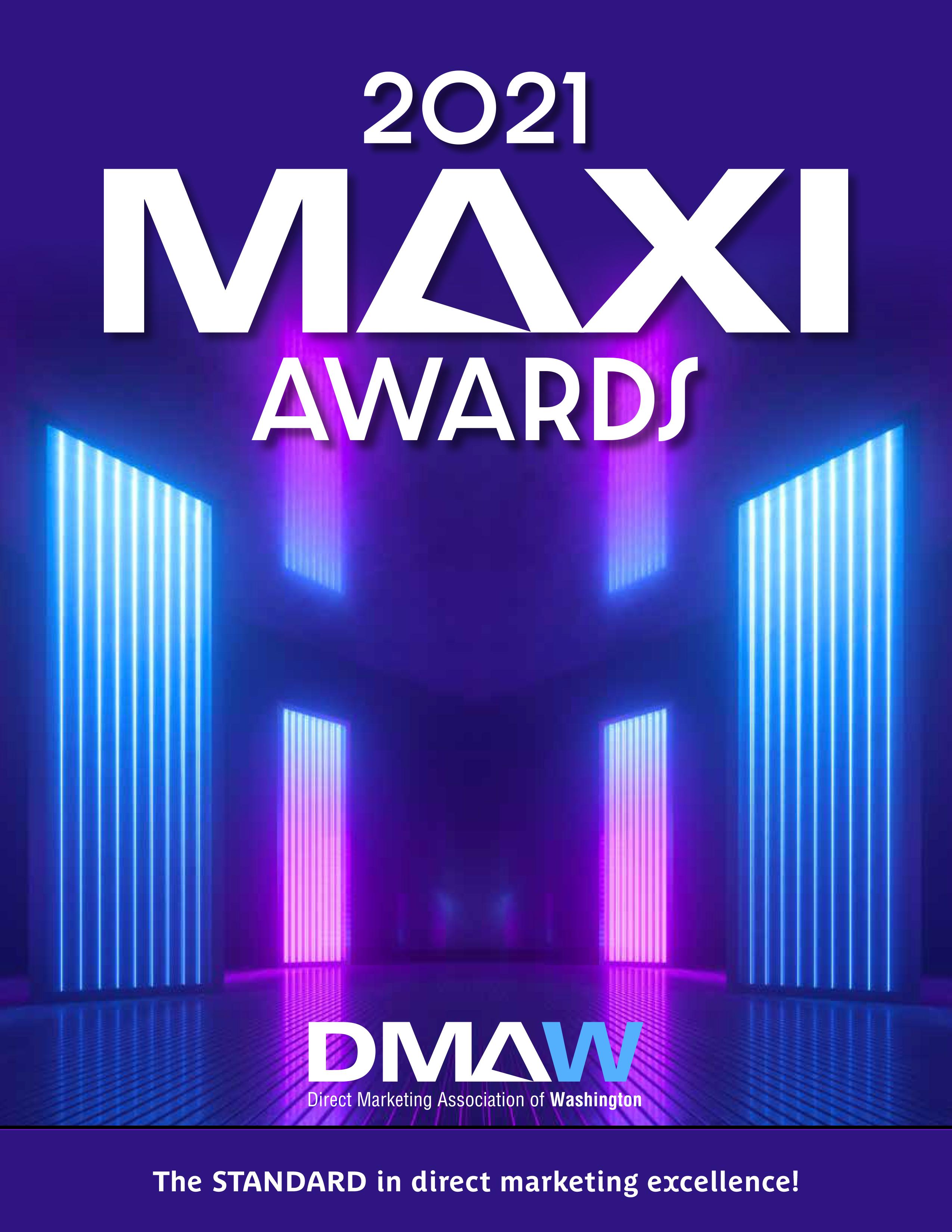 2021 MAXI Awards_Program Book_Cover