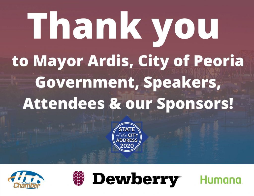 Thank you to Mayor Ardis, presentors, attendees &our Sponsors!