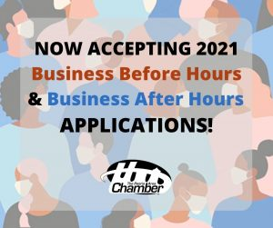 NOW ACCEPTING Business Before Hours & Business After Hours Applications!