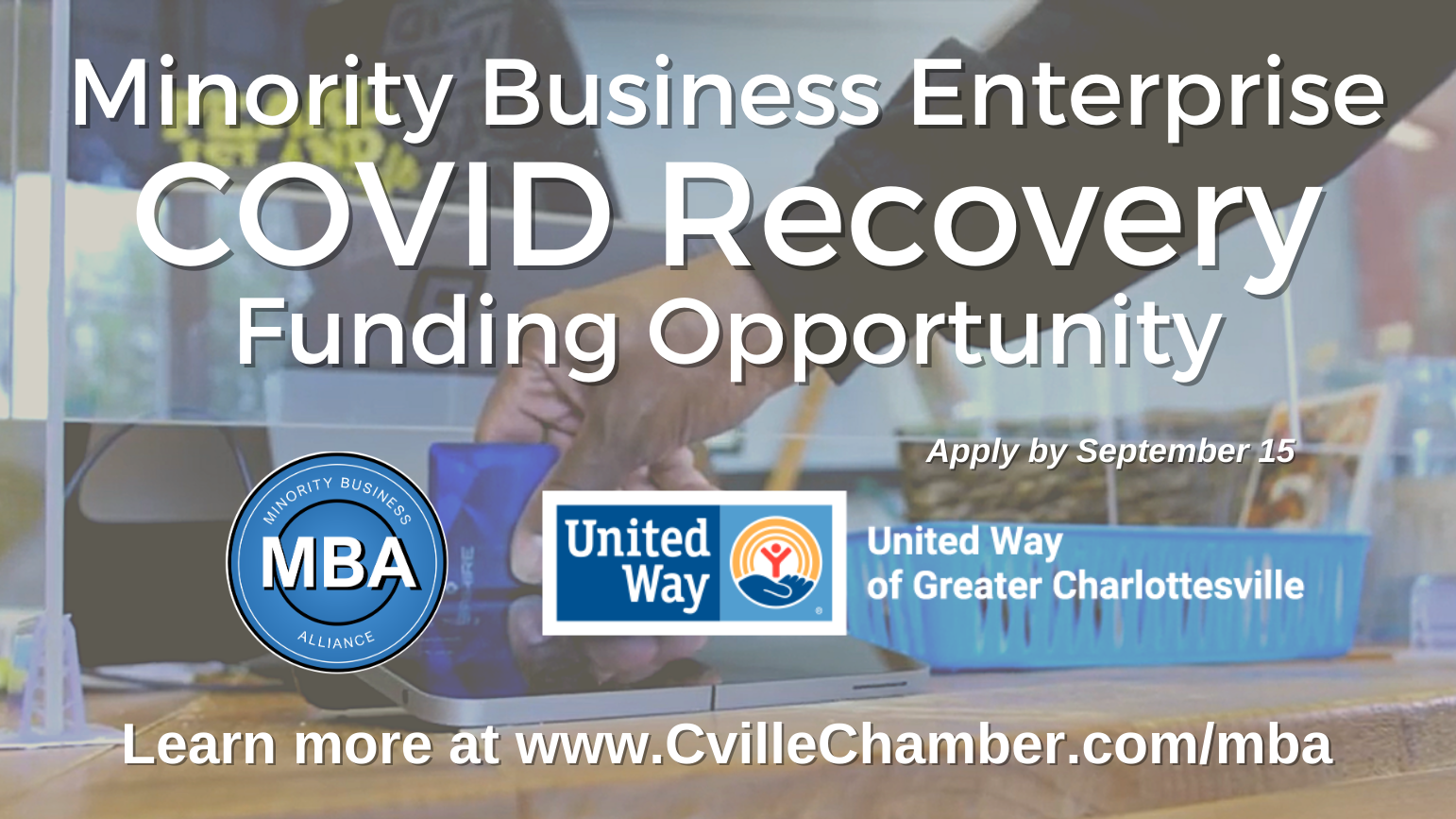 Minority Business COVID Recovery Grant banner