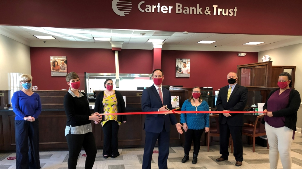 Carter Bank & Trust at Mill Creek, November 19, 2020