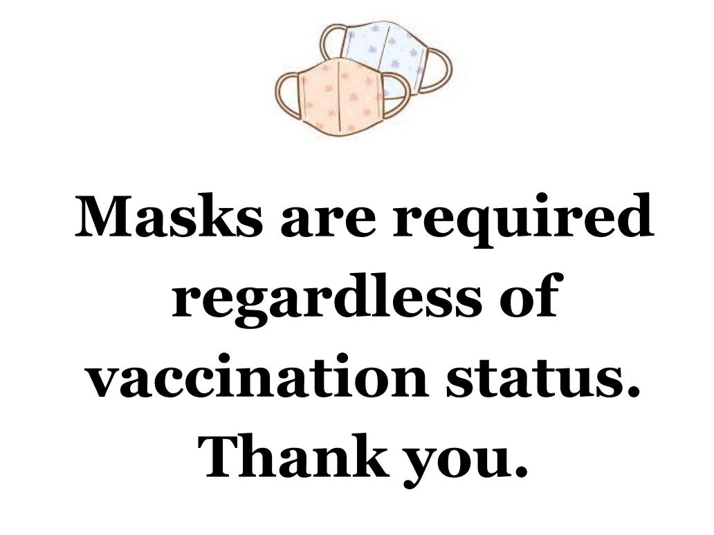 mask sign may 2021