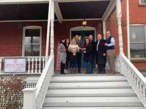 Hatch House Bed & Breakfast Ribbon Cutting