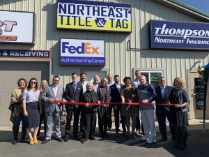 Northeast Title & Tag Ribbon Cutting