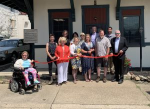 Trowbridge & Co Ribbon Cutting