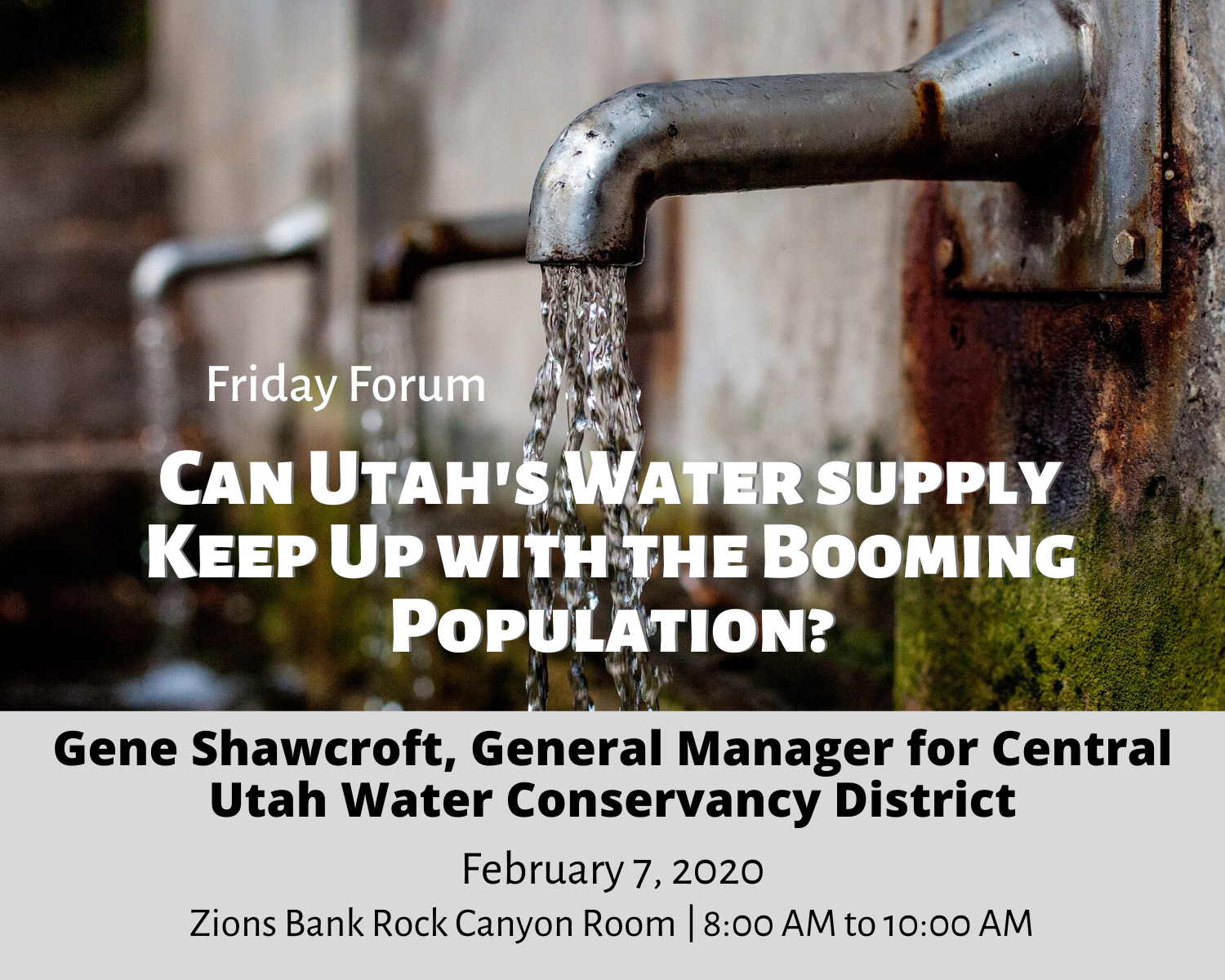 Can Utah's Water supply Keep Up with the Booming Population_