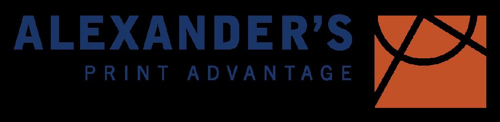 Alexander's Print Advantage Logo