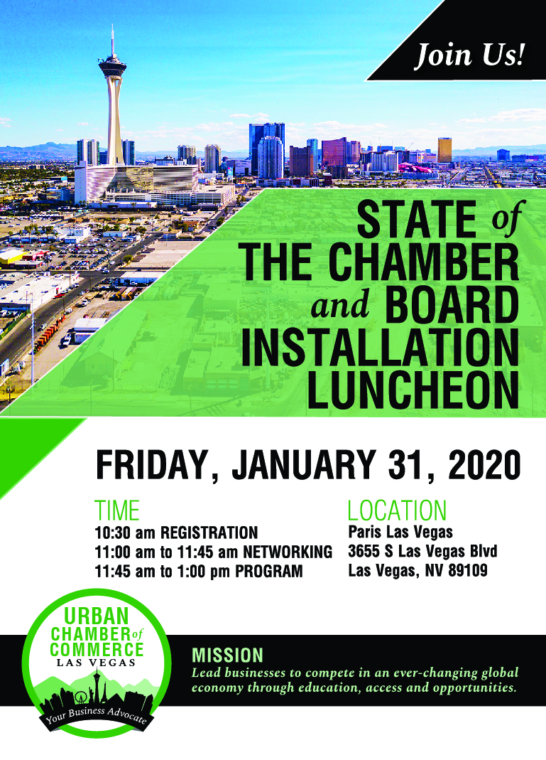 UCC State of the Chamber Luncheon Invitation