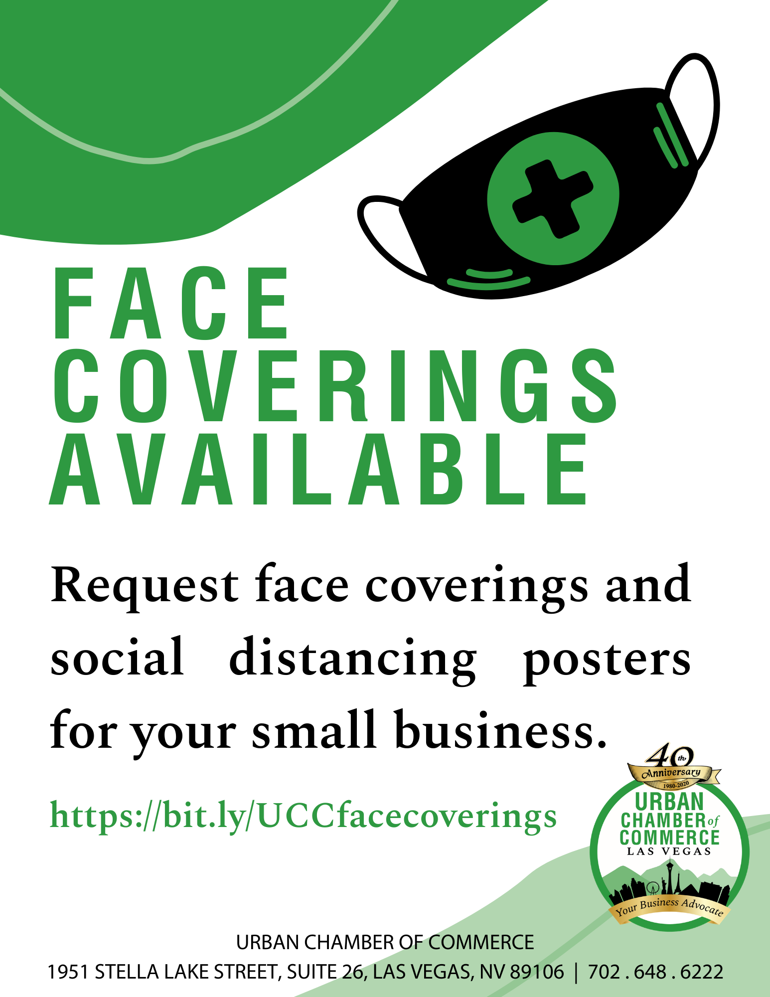Face Coverings Available