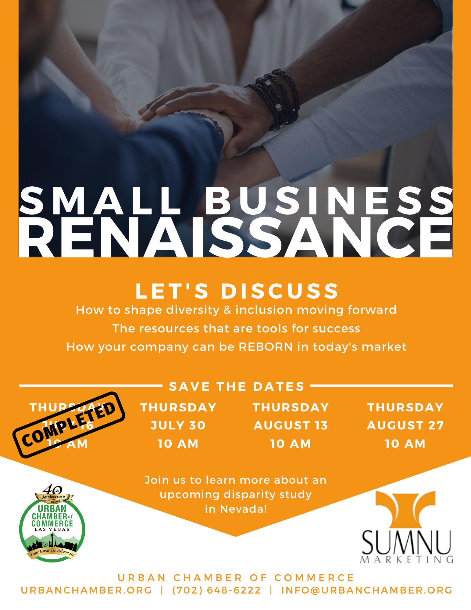 Small Business Renaissance Save The Date (After Session 1)