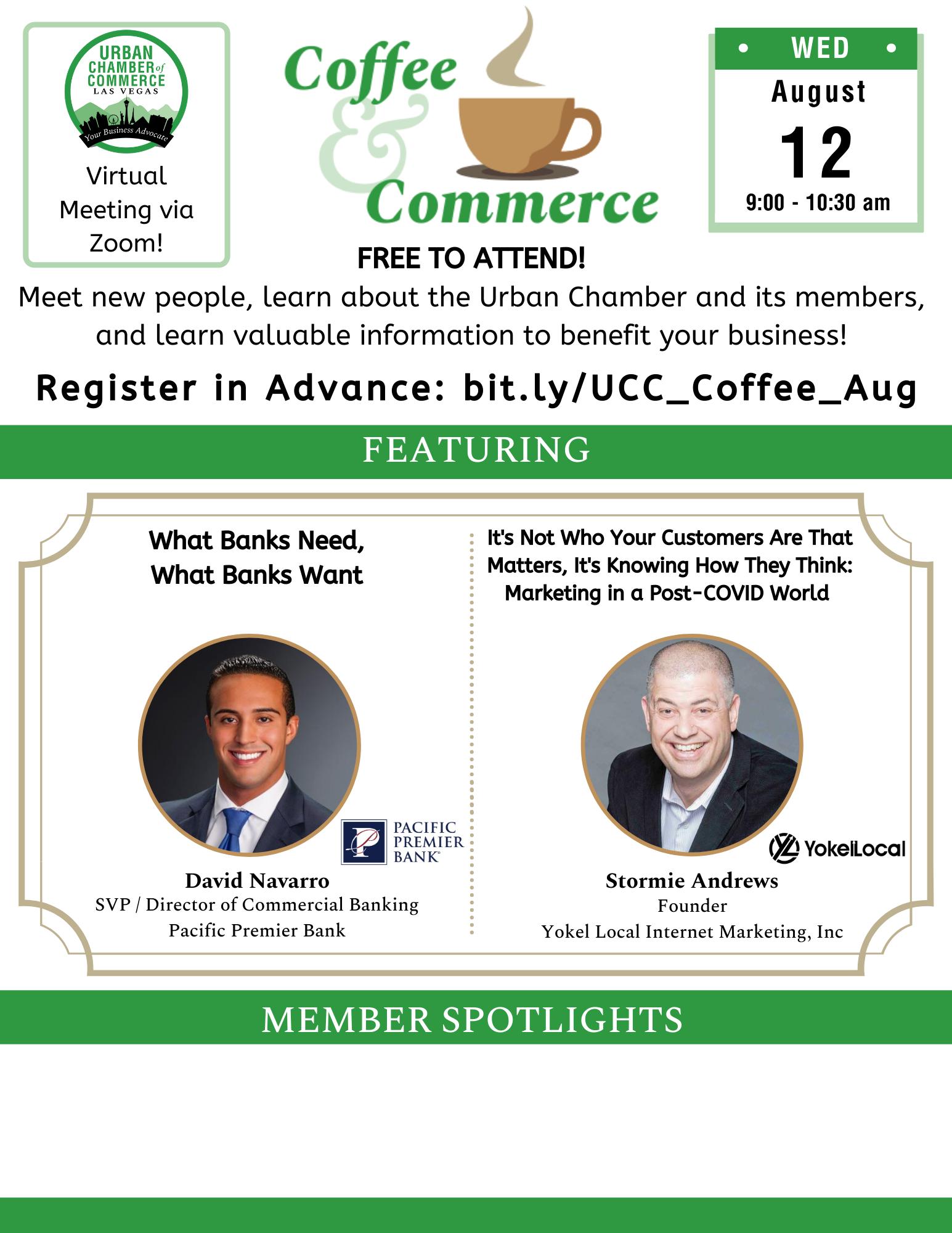 Coffee & Commerce Aug 2020