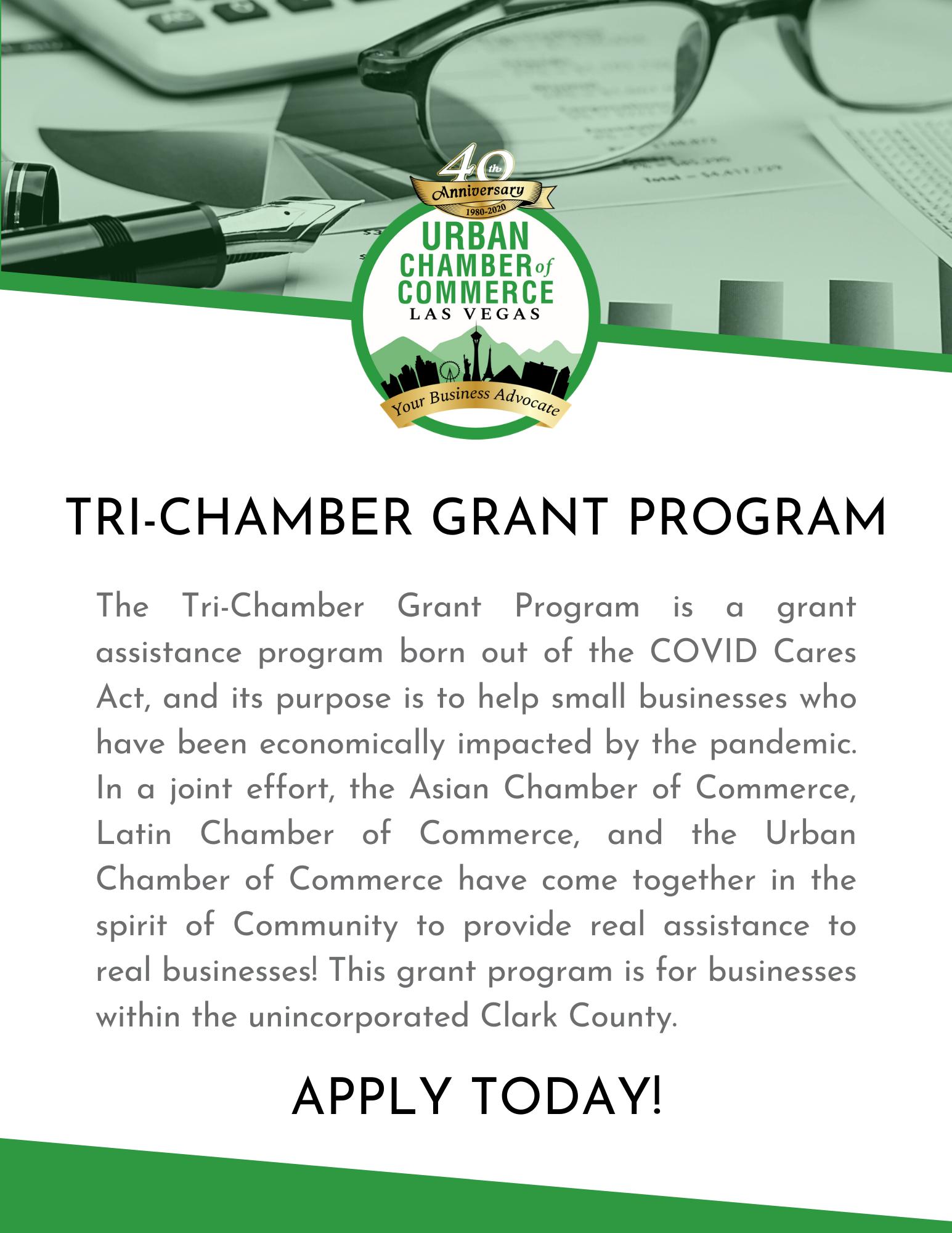 Tri-Chamber Grant Program
