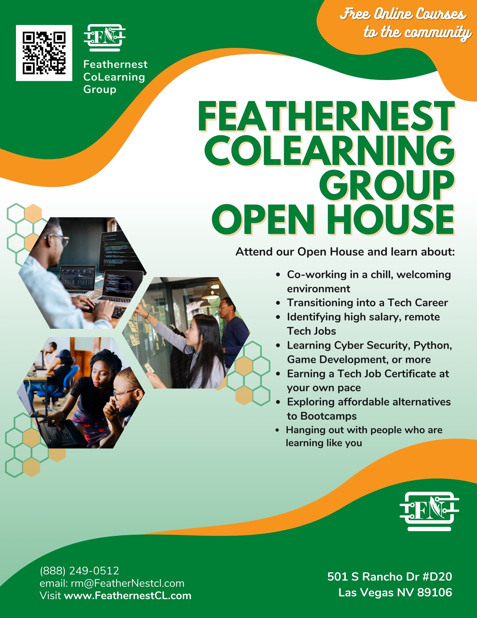 Feathernest open house flier - QR Code (2)