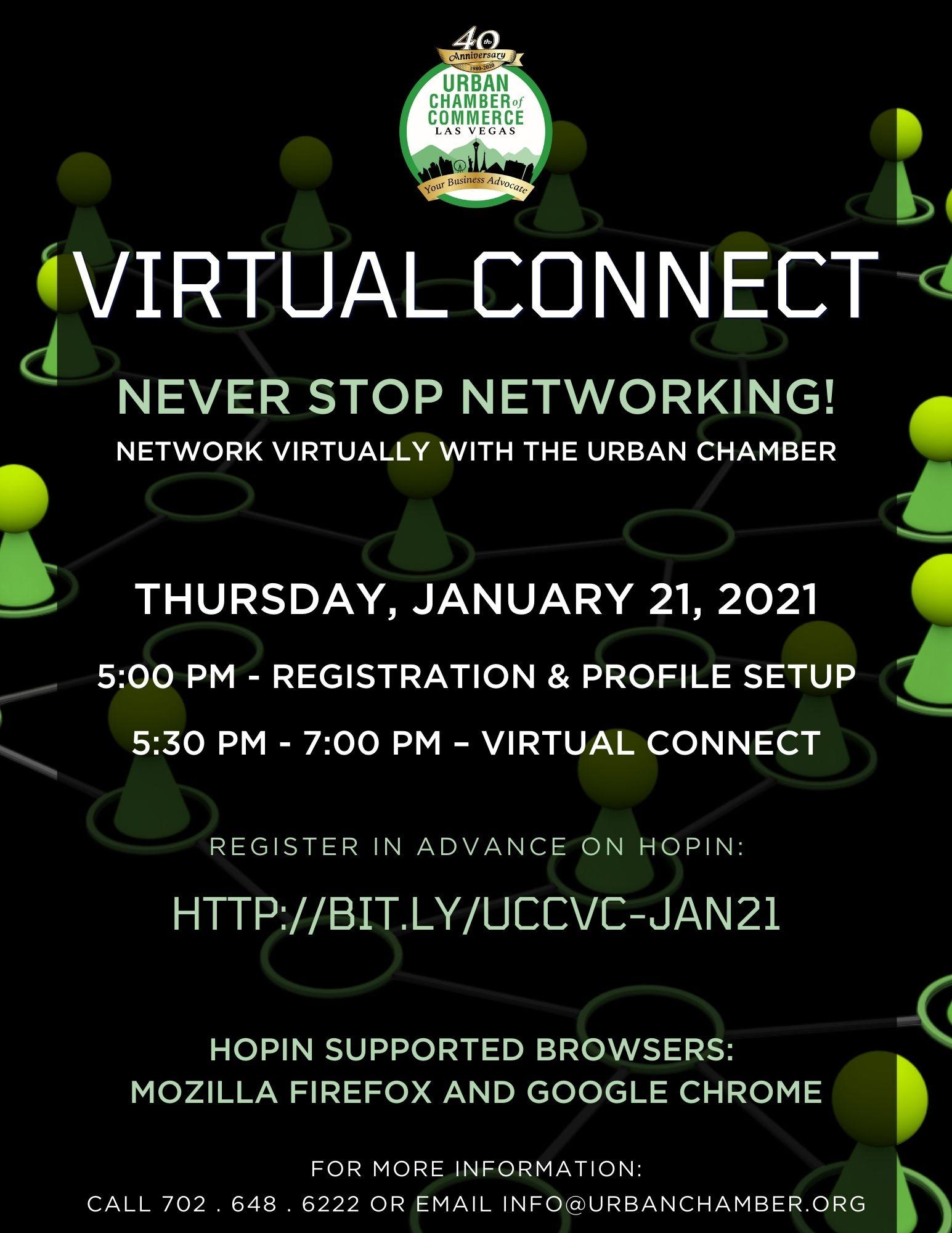 2021 Virtual Connect Flyer