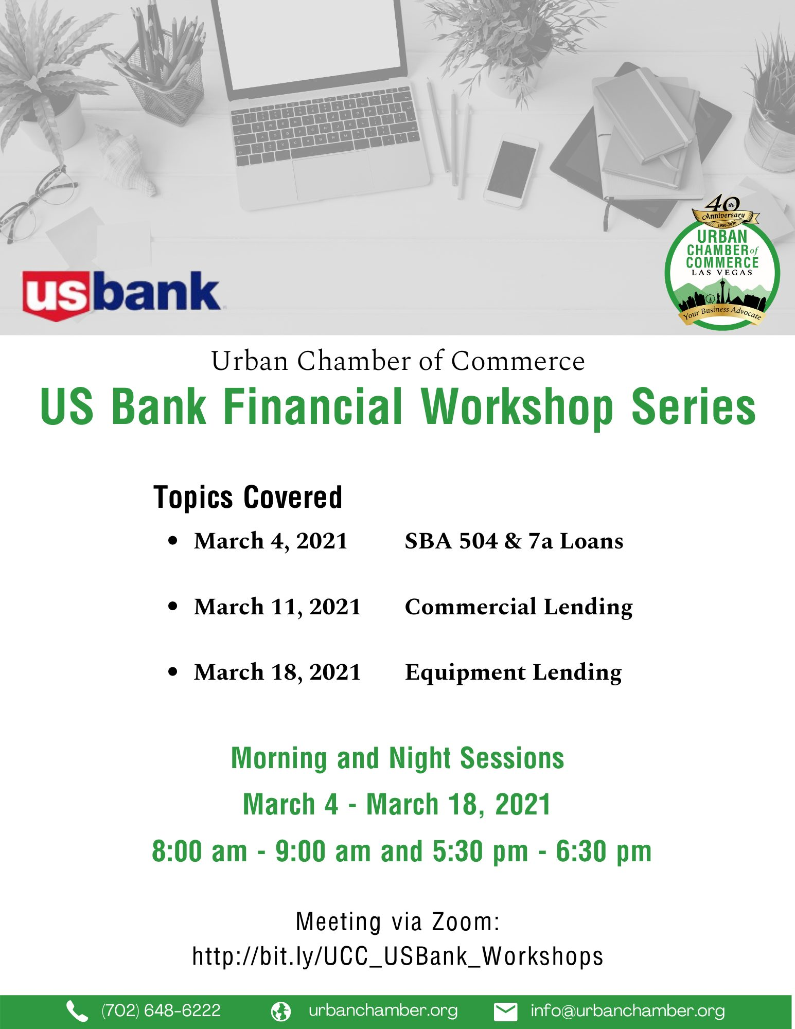 Updated US Bank Financial Workshop Series