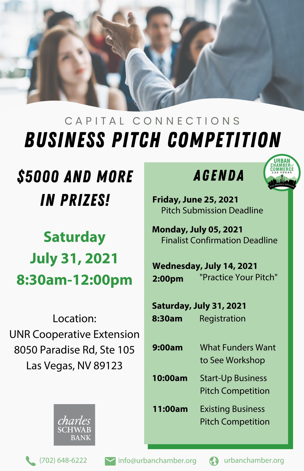 Business Pitch Competition 2021 - FINAL Updated