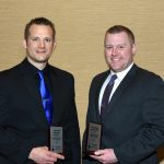 POLICE OFFICERS OF THE YEAR - Detective Jeremiah Schmidt & Detective Kyle Duffie