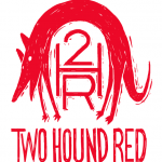 two hound red logo