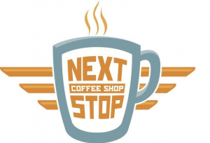 next stop coffee logo