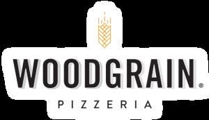 woodgrain pizza logo