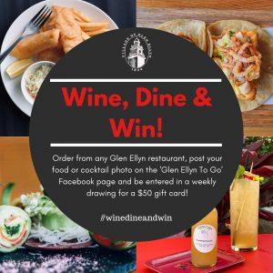 Wine, Dine & Win Details