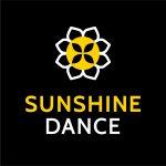 sunshine dance black background