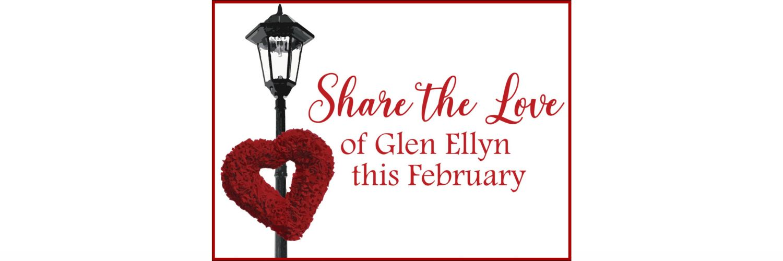 Share the love banner website