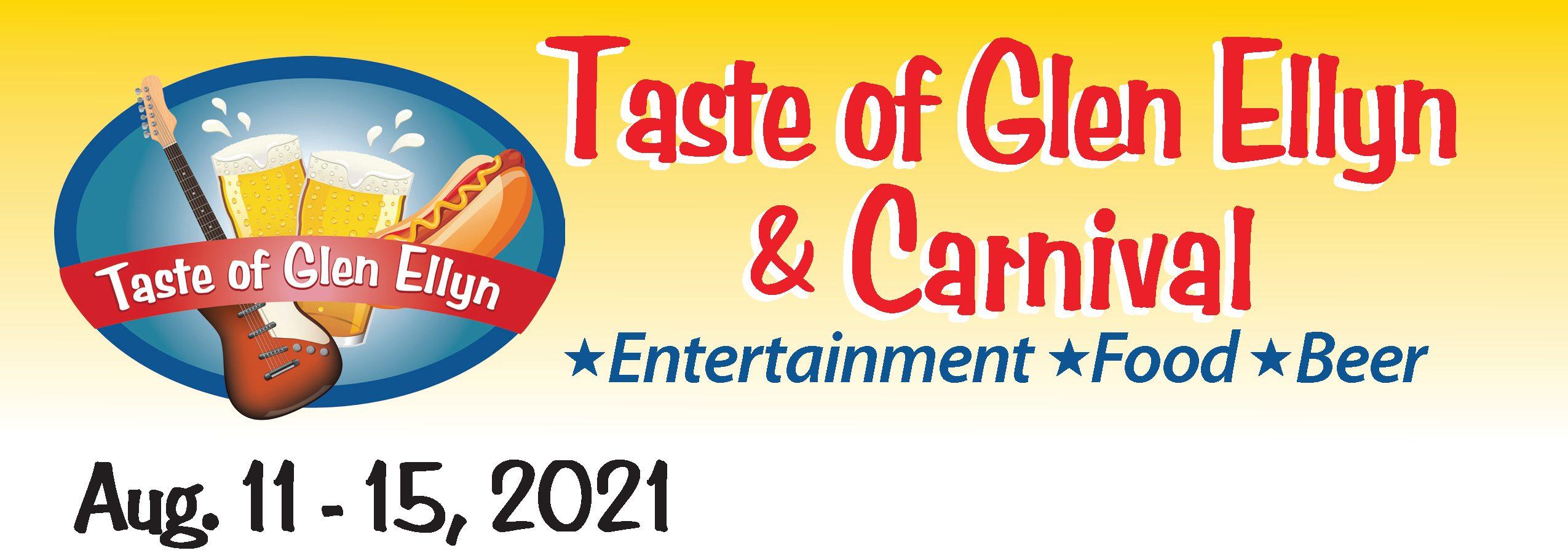 Taste2021 banner webpage